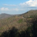 The Cherohala Skyway carves across the mountains