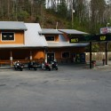 Dusk at the Deals Gap Motorcycle Resort