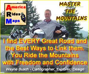 Wayne Busch - America's Rides Motorcyle Maps
