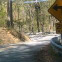 Sharp Turn ahead on Hwy 80