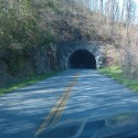One of 2 tunnels on the Parkway for this ride