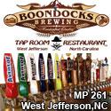 Boondocks Brewery West Jefferson, NC